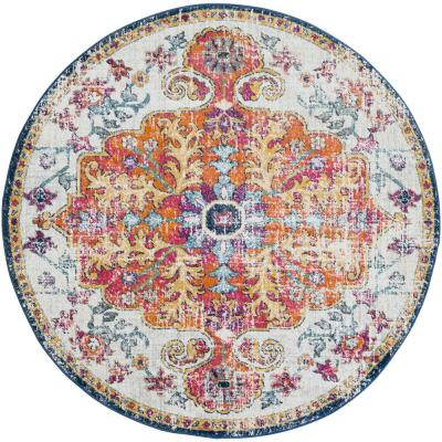 Demeter Ivory 7 ft. 10 in. Round Area Rug