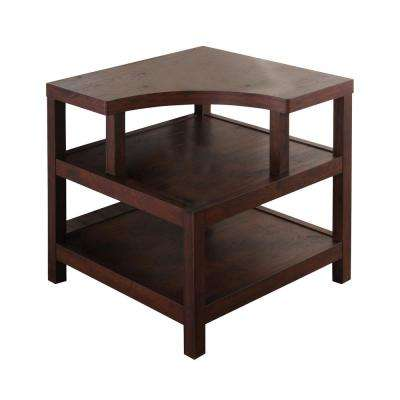 Annora Vintage Walnut End Table