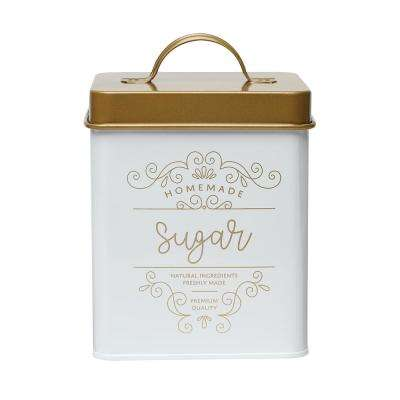 Harper 50 oz. Metal Sugar Storage Canister with Square Shape