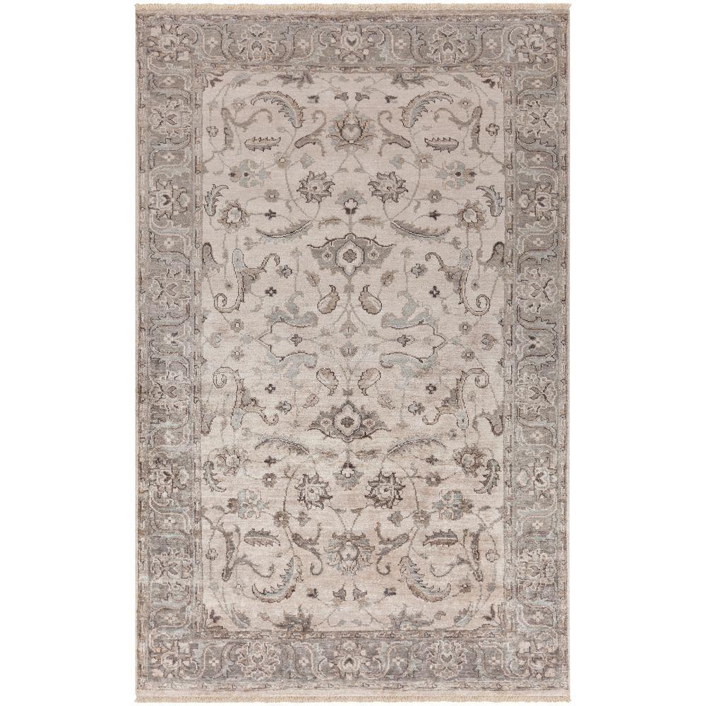 Artistic Weavers Sembiyan Light Gray 8 Ft X 10 Ft Indoor