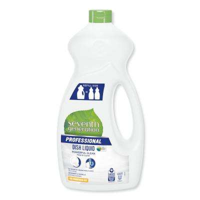 50 oz. Free and Clear Scent Dishwashing Liquid (Case of 6)