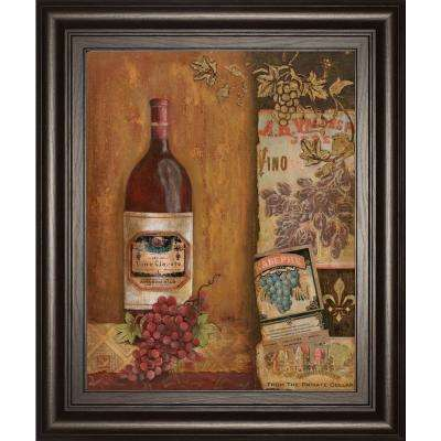 "22 in. x 26 in. ""Vintage Red"" by Tava Studio Framed Printed Wall Art"