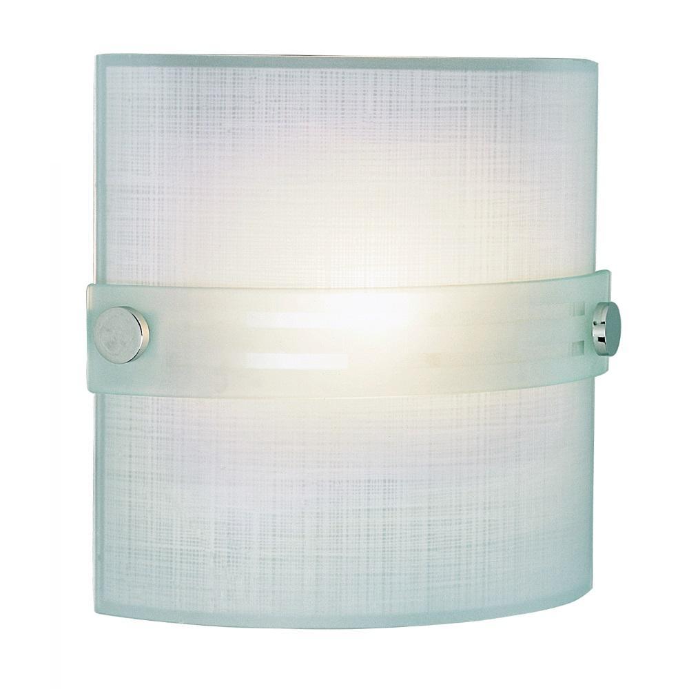 Stewart 1-Light Polished Chrome Incandescent Sconce