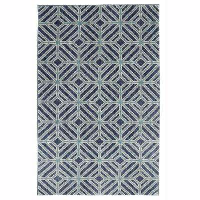 Nicholas Flat Denim 8 ft. x 10 ft. Area Rug