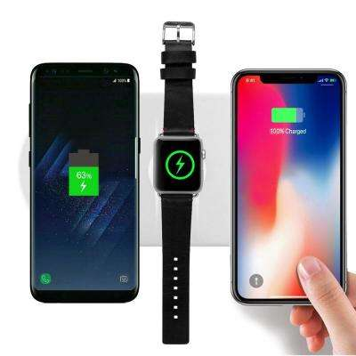 3-in-1 Ultra-Thin Fast Charging Wireless Charging Pad