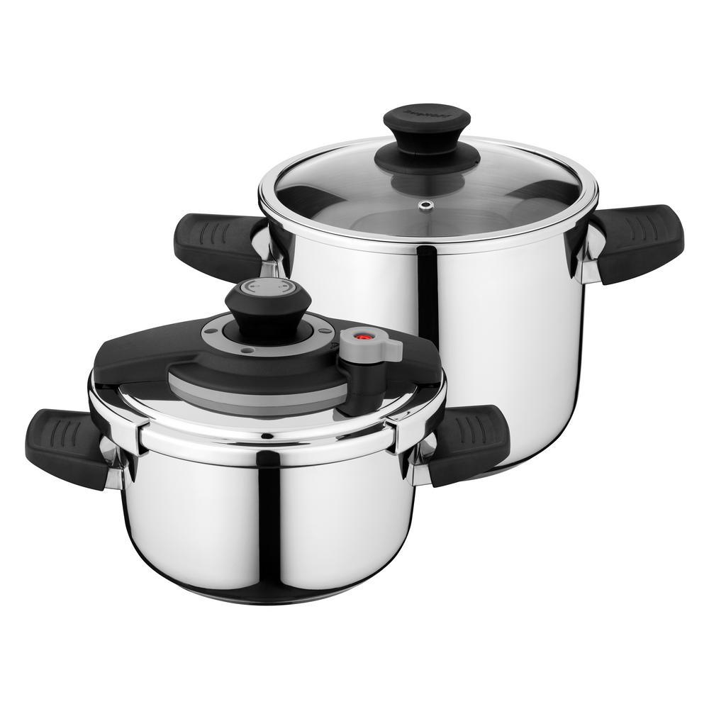 Vita 4-Piece Pressure Cooker Set