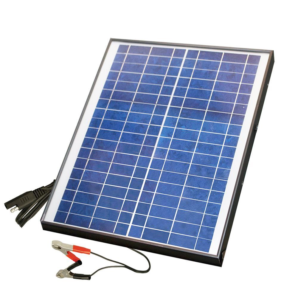 20-Watt  Polycrystalline Solar Panel for 12-Volt Charging