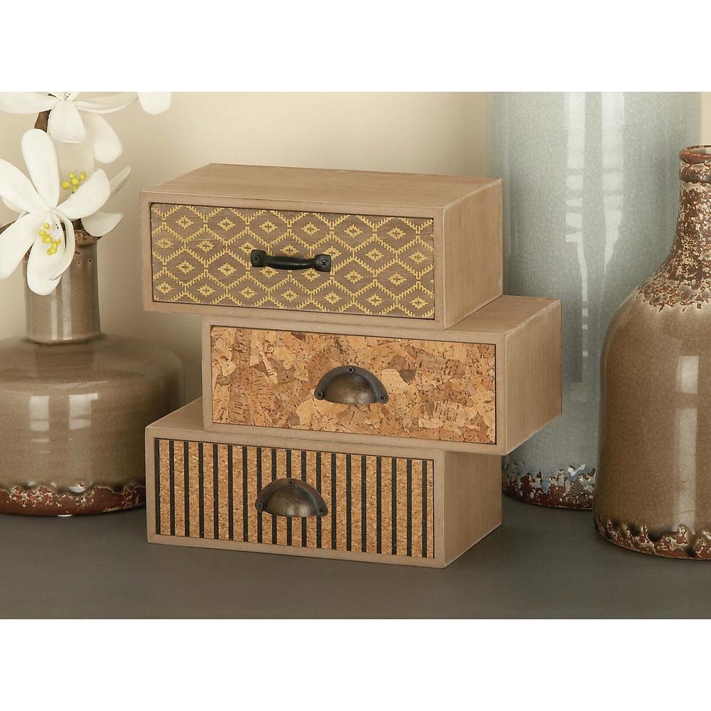 9 in. x 9 in. Modern Wooden Jewelry Box