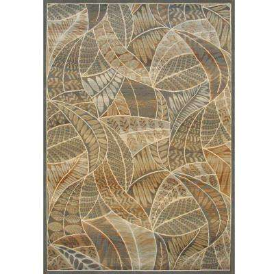 Essentials Grenada Blue 5 ft. 3 in. x 7 ft. 6 in. Area Rug