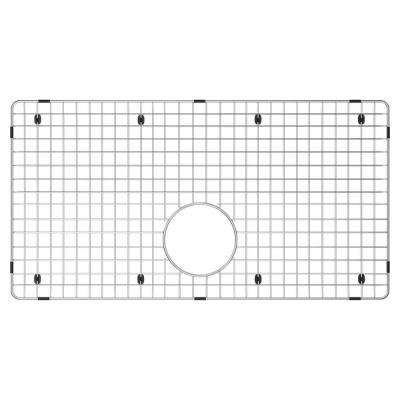 15 in. x 28 in. Sink Bottom Grid for Select Blanco Precis Sinks in Stainless Steel