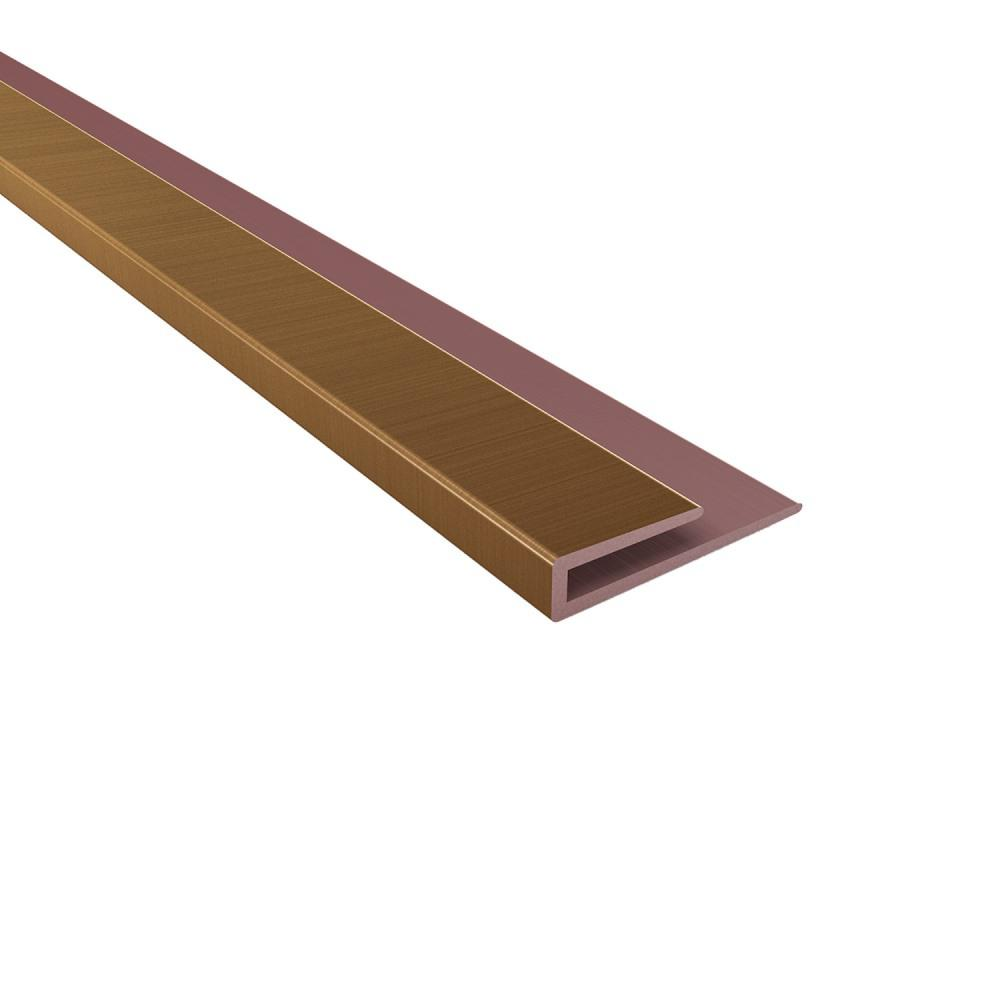 Fasade 4 Ft Oil Rubbed Bronze Large Profile J Trim 176 26