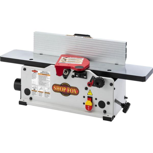6 in. Benchtop Jointer with Spiral-Style Cutterhead