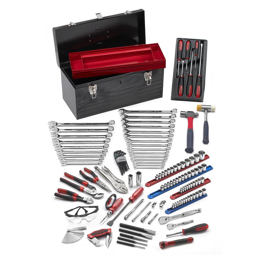 dewalt mechanics tool set 200 piece dwmt75000 the home depot. Black Bedroom Furniture Sets. Home Design Ideas