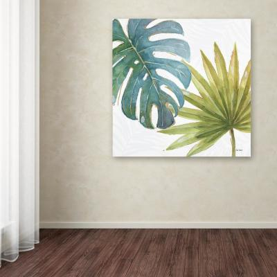 "35 in. x 35 in. ""Tropical Blush VIII"" by Lisa Audit Printed Canvas Wall Art"
