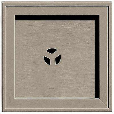 7.75 in. x 7.75 in. #097 Clay Recessed Square Universal Mounting Block