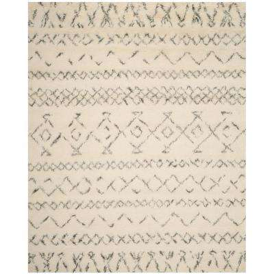 Casablanca Ivory/Gray 9 ft. x 12 ft. Area Rug