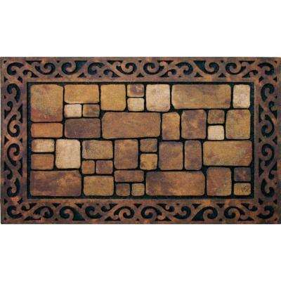 Aberdeen 18 in. x 30 in. Recycled Rubber Mat