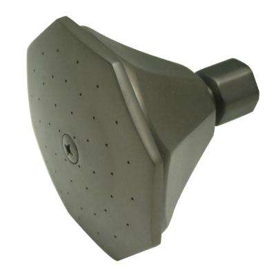 Victorian 1-Spray 4 in. Showerhead in Oil Rubbed Bronze
