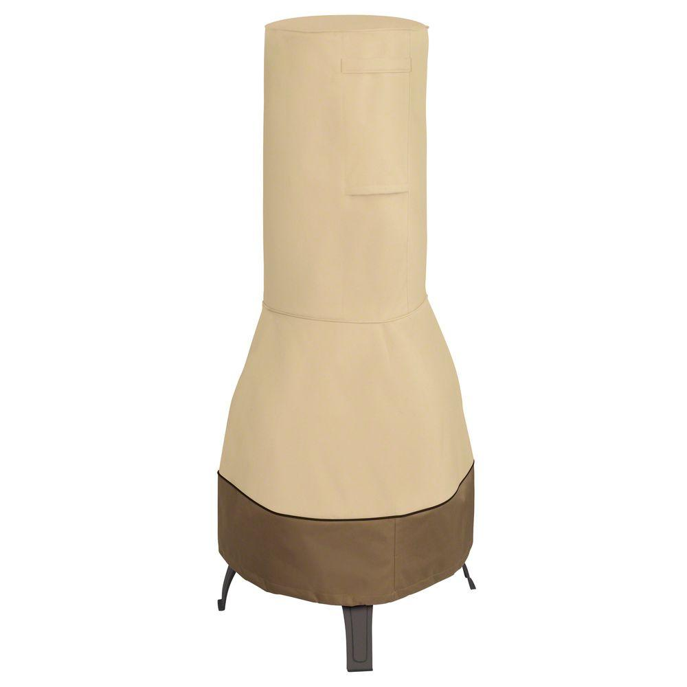 Will Clic Accessories Veranda Chiminea Cover Fit Hampton Bay Cast Iron Patio