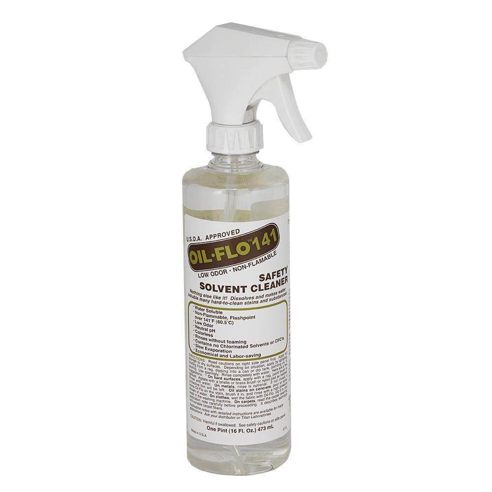 Oil Flo 141 Water Rinse Adhesive Remover Spray