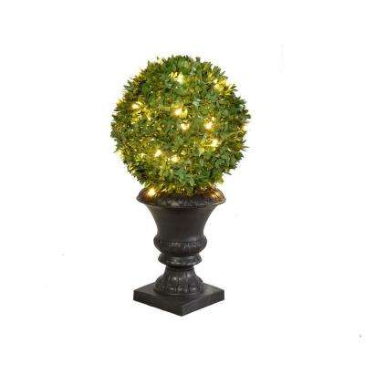 24 in. Topiary Large Ball Shaped Planter