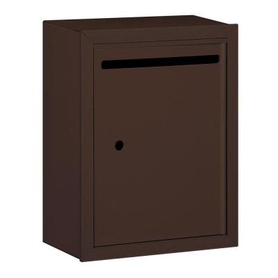 2240 Series Bronze Standard Surface-Mounted USPS Letter Box