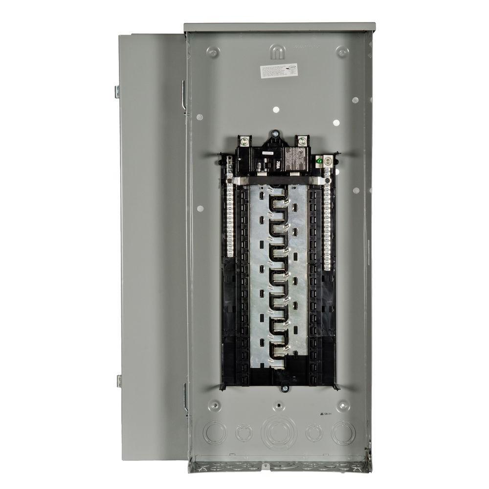 Siemens ES Series 200 Amp 30-Space 40-Circuit Main Breaker Outdoor ...