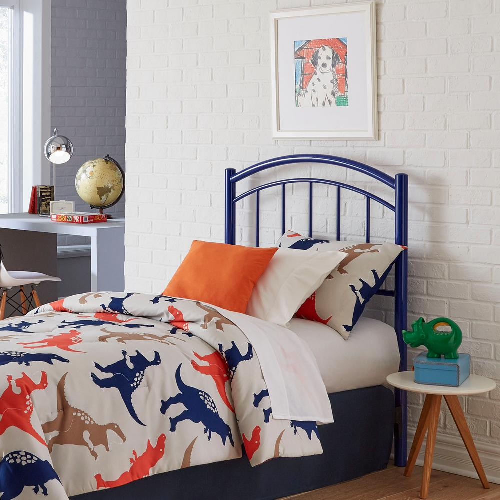 Fashion Bed Group Rylan Cadet Blue Twin Headboard With