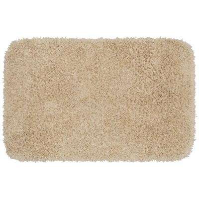 Jazz Linen 24 in. x 40 in. Washable Bathroom Accent Rug