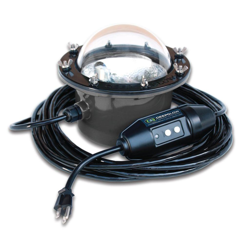 Deep Glow Green Underwater Light for Salt or Freshwater-DGI-G30 ... for Underwater Light Fixture  165jwn