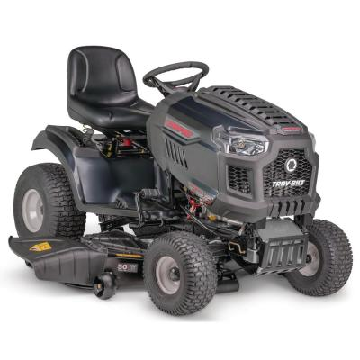 Super Bronco XP 50 in. 679 cc V-Twin Engine Hydrostatic Drive Fabricated Deck Gas Riding Lawn Tractor W/Mow in Reverse