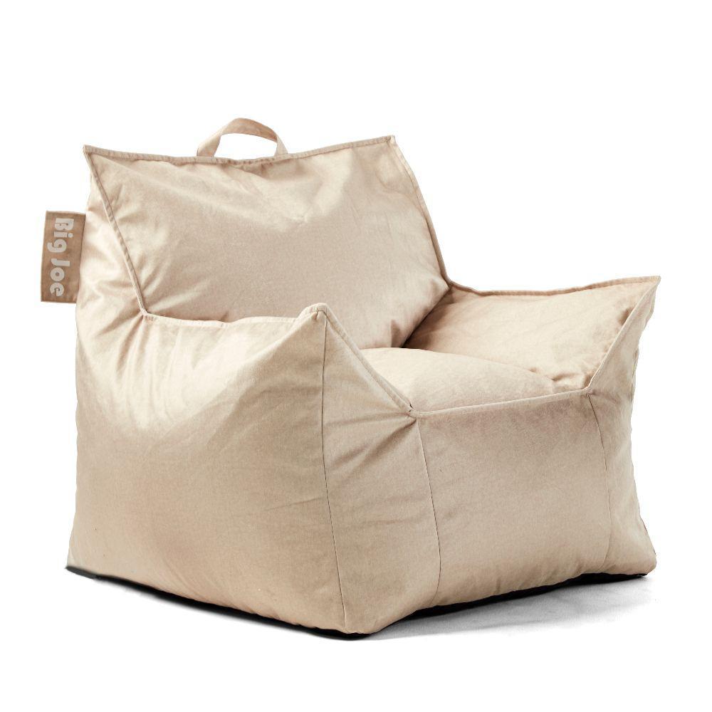 Kids Mitten Chair Oat Lenox Bean Bag