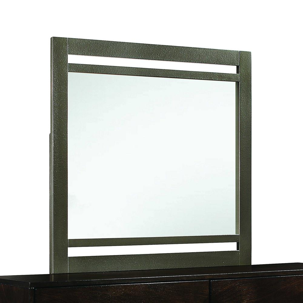 Homeroots Medium Rectangle Walnut Classic Mirror 37 In H X 1 In W 348192 The Home Depot