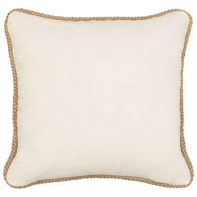 Arielle 18 in. x 18 in. Decorative Pillow