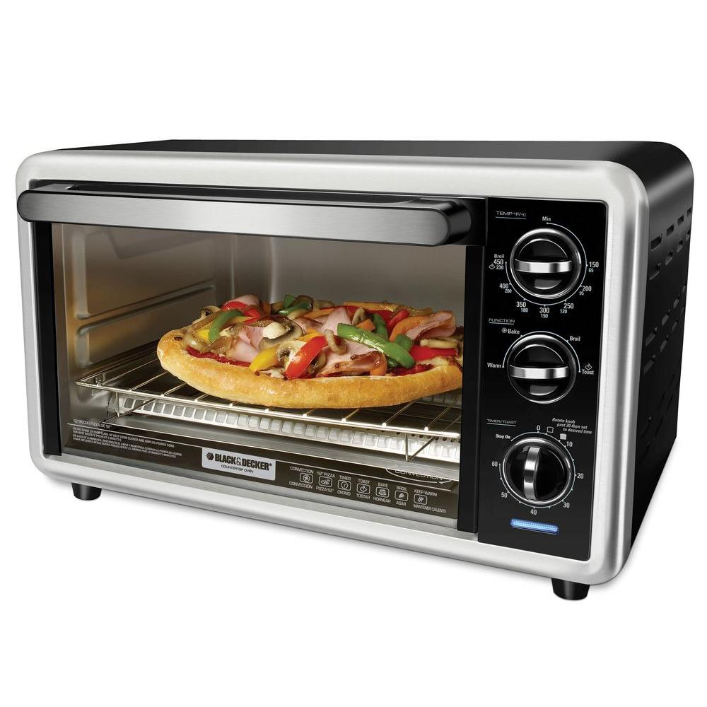 BLACK+DECKER Convection Countertop Oven with 60-Minute Timer