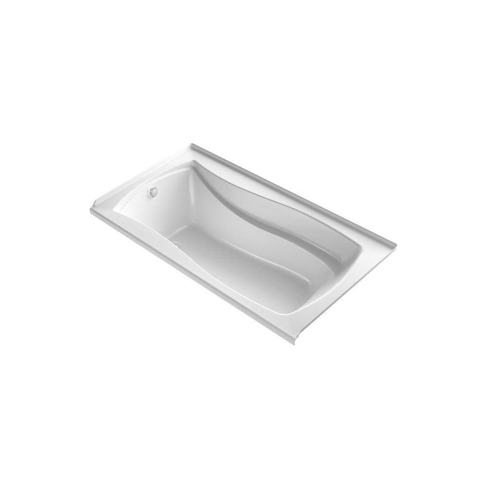 KOHLER Mariposa 5.5 ft. Air Bath Tub in White
