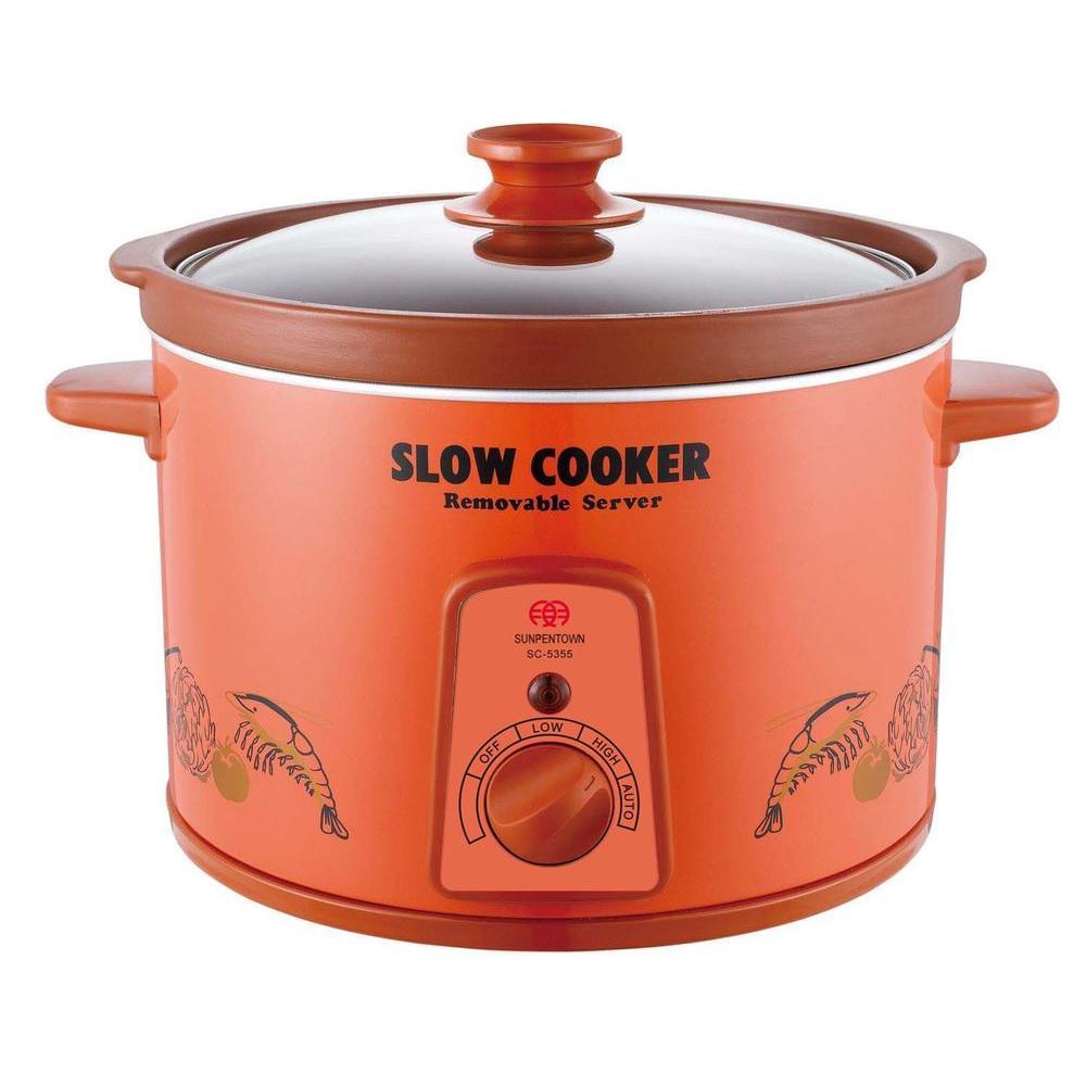 SPT 5.28 qt. Slow Cooker-DISCONTINUED