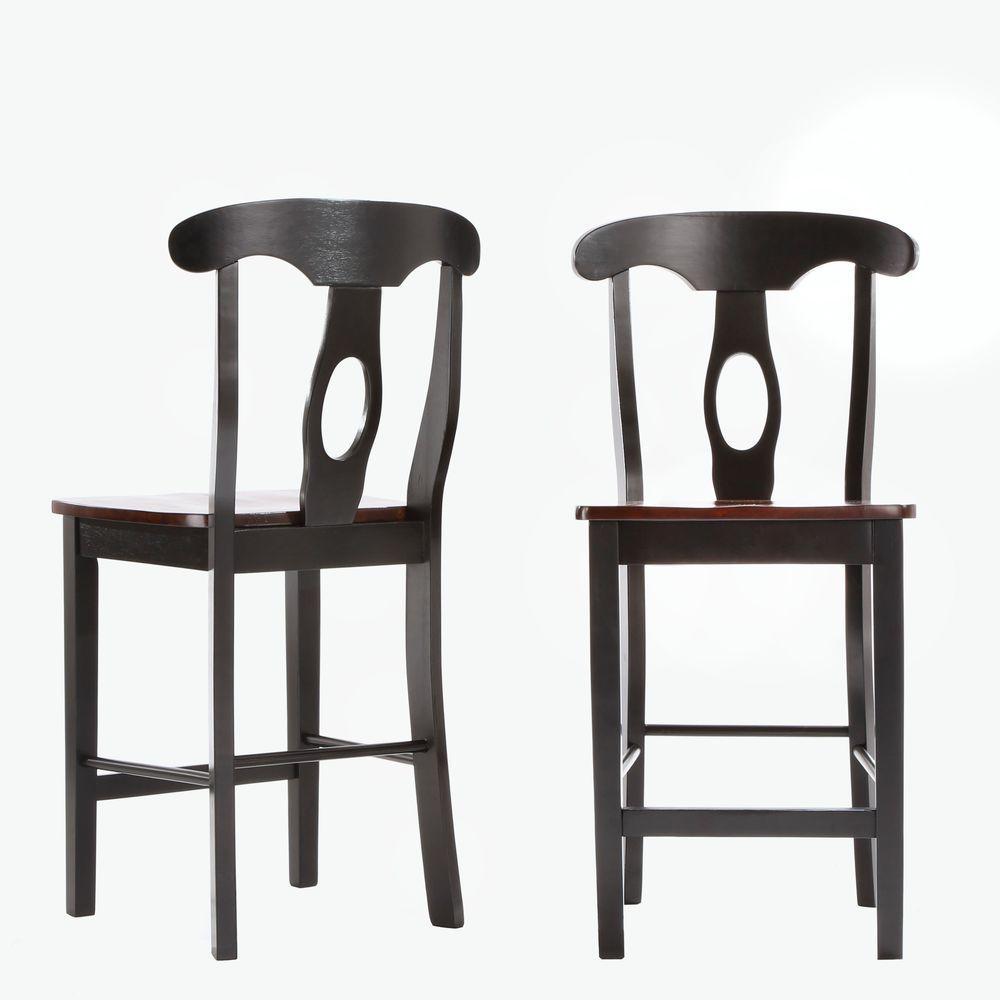 HomeSullivan Kamerfield 3-Piece Black Bar Table Set-40937D850P(3A ...