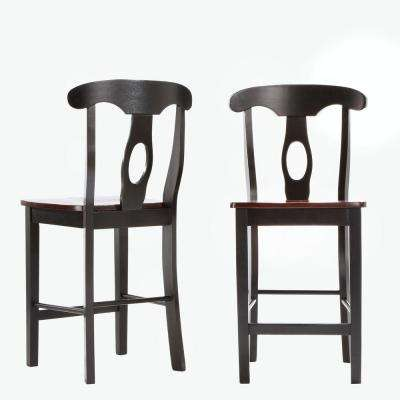 Kamerfield 3-Piece Black Bar Table Set
