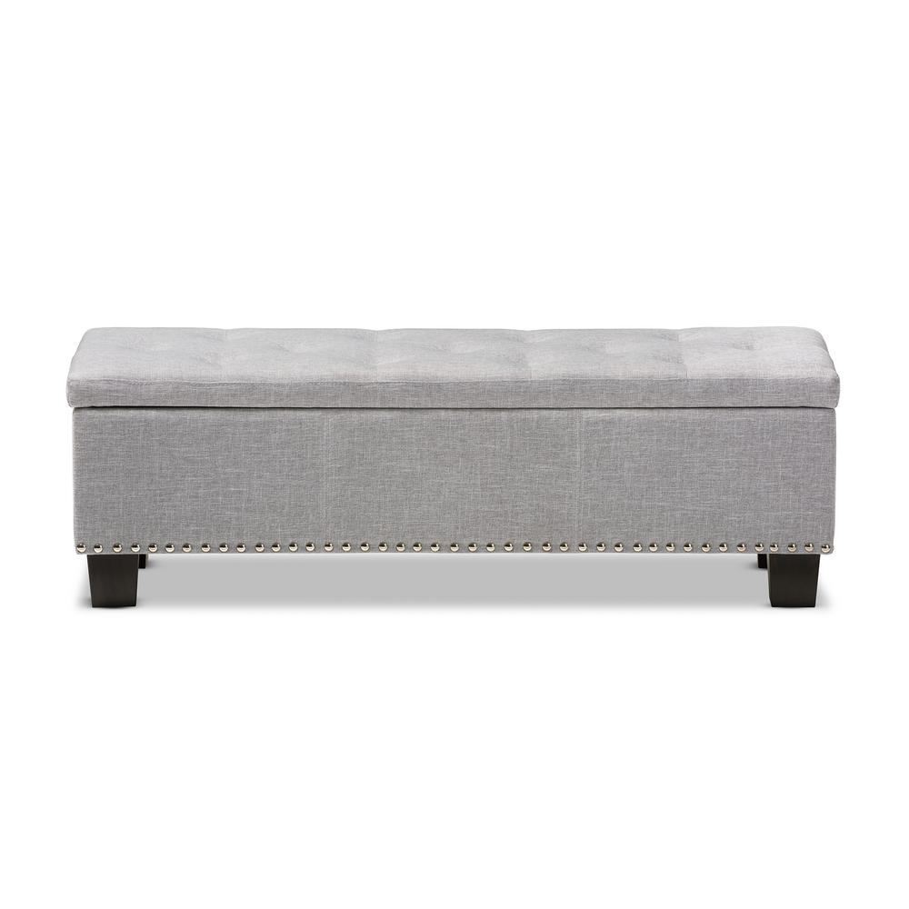 Hannah Light Gray Bench