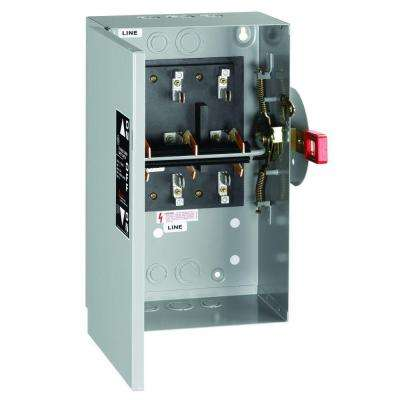 60 Amp 240-Volt Non-Fused Indoor General-Duty Double-Throw Safety Switch