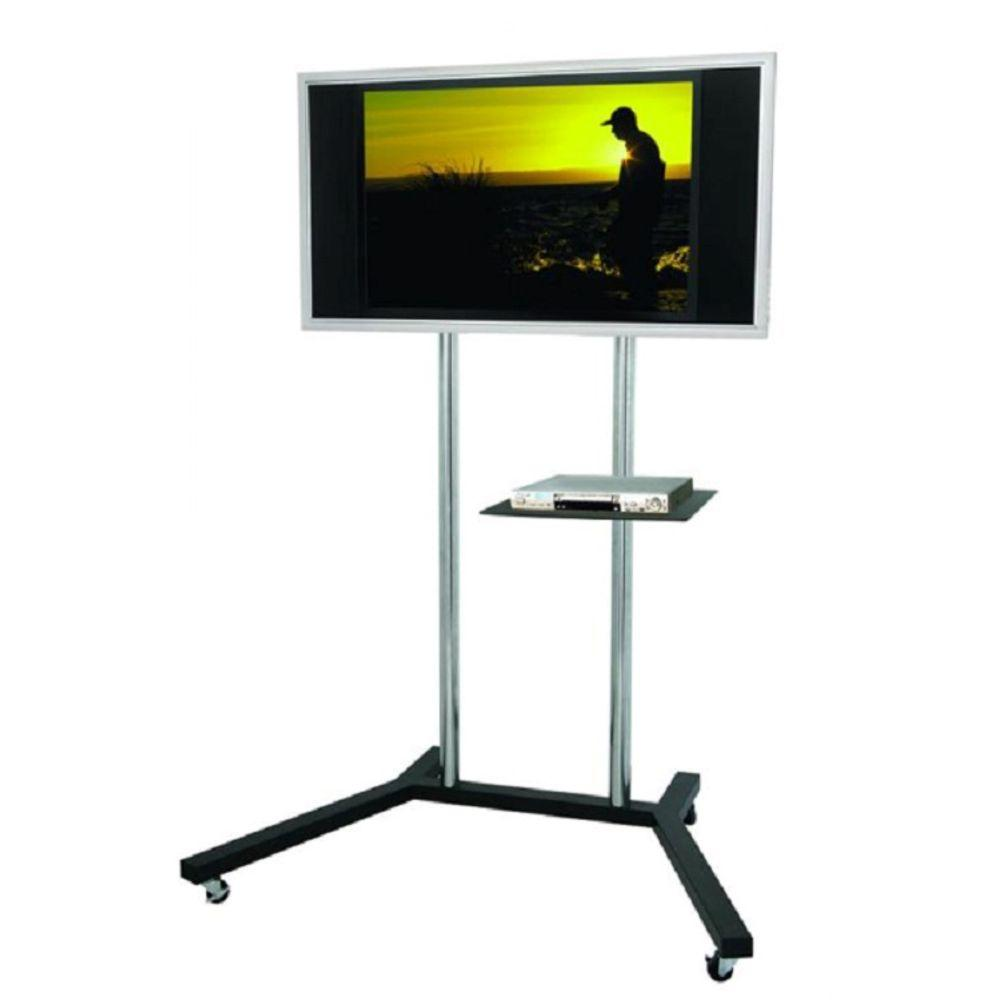 Homevision Technology TygerClaw TV Stand for 22 in. - 60 in. Flat Panel TV, Black -  LCD8005BLK