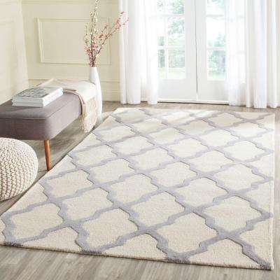 Cambridge Ivory/Silver 9 ft. x 12 ft. Area Rug