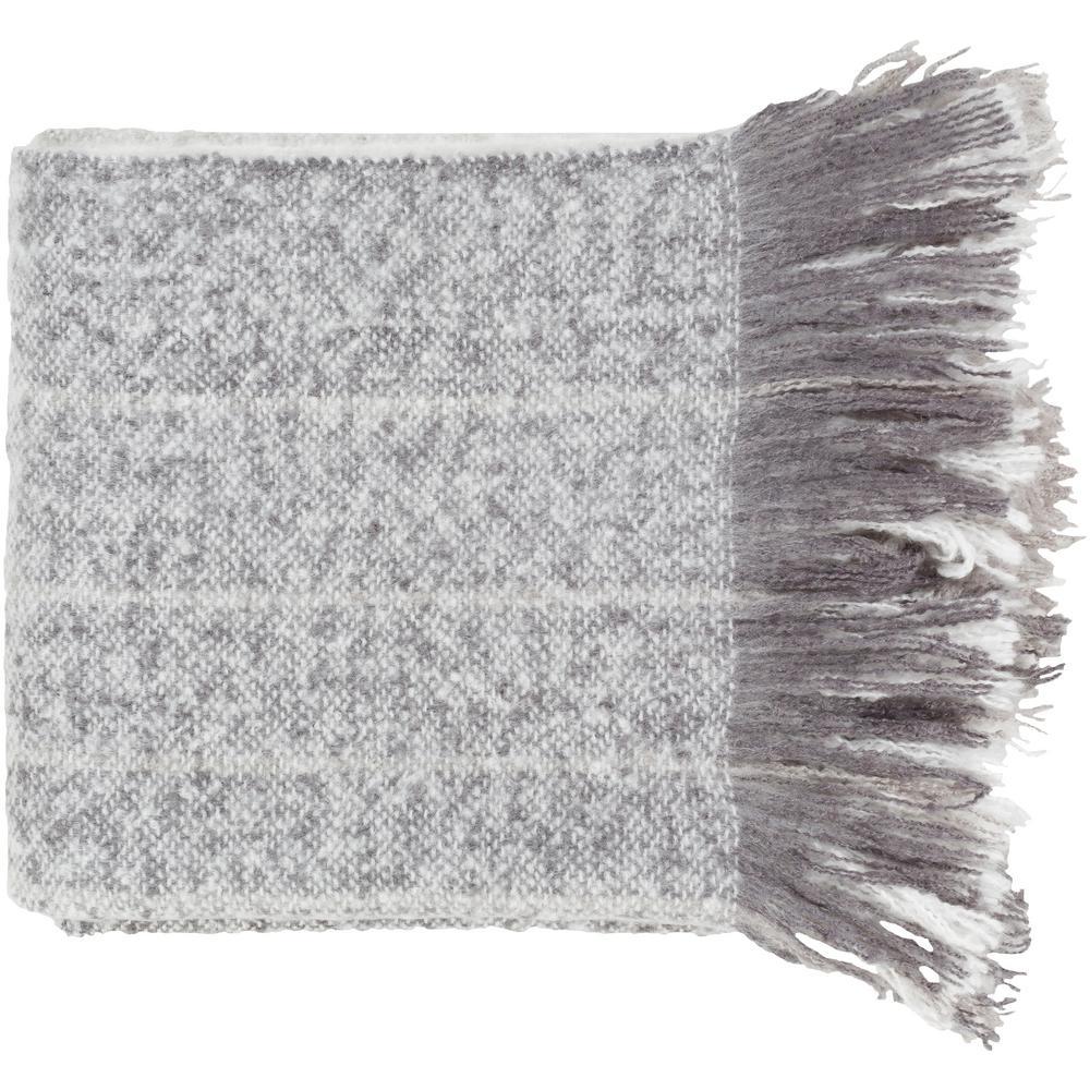 Arran Gray Acrylic Throw