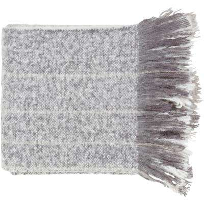 Arran Gray Acrylic Throw