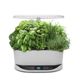 Bounty White - In Home Garden with Gourmet Herb Seed Pod Kit (Alexa Enabled)