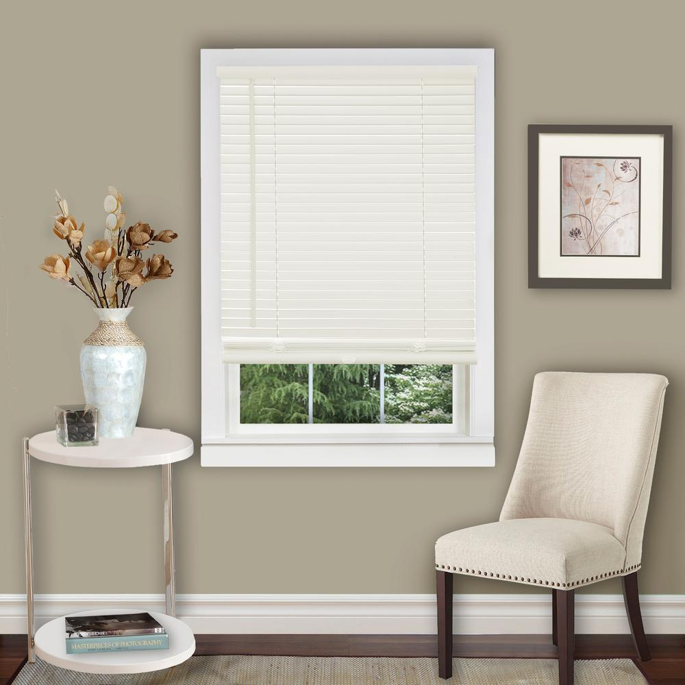 Home decorators collection 29 in alabaster replacement wand for 2 in grand wood blind Home decorators collection faux wood blinds installation