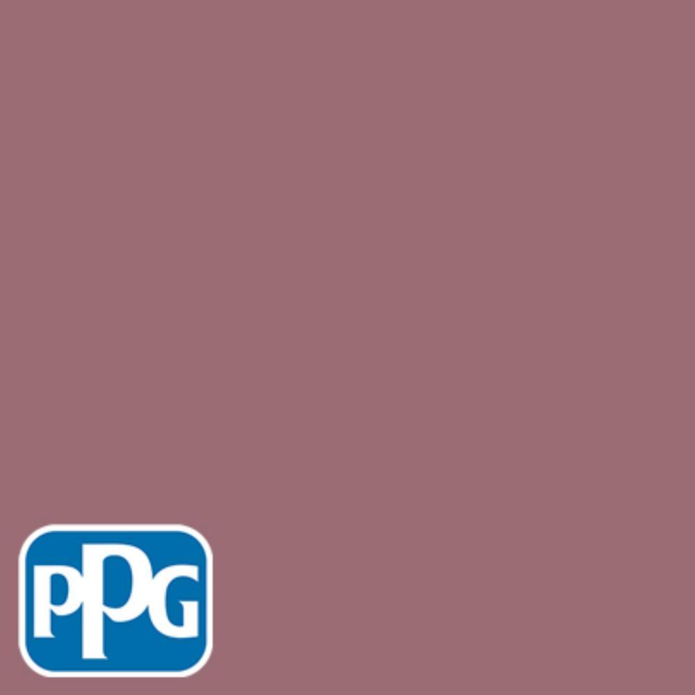 8 oz. #HDPPGR25U Vintage Rouge Red Flat Interior/Exterior Paint Sample