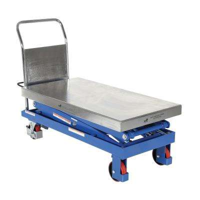 1,500 lb. 47.5 in. x 24 in. Hydraulic Scissor Cart