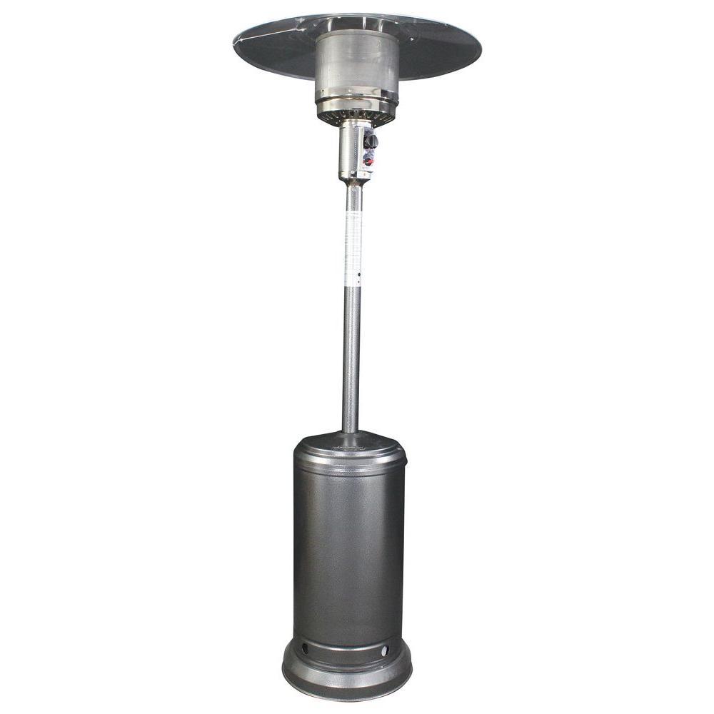 HomComfort 40,000 BTU Antique Silver Round Mushroom Style Gas Patio Heater HCPHAS    The Home Depot